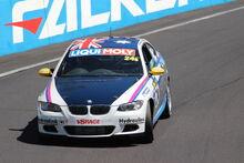 BMW 335i on the track
