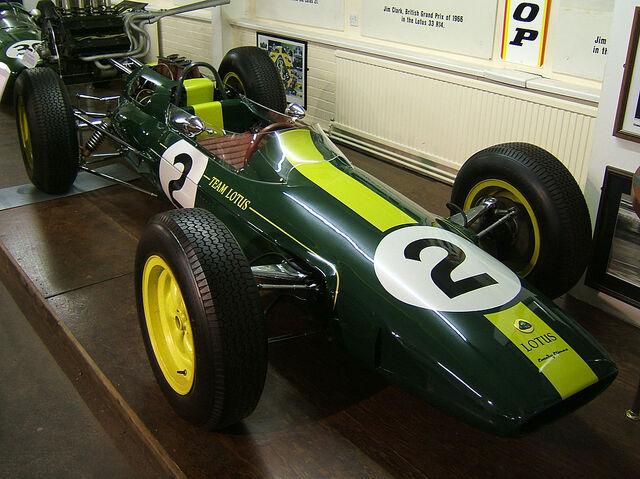 File:Lotus 25 Jim Clark Donington.jpg