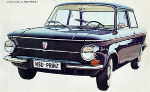 Rear engine NSU prinz b