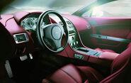 2007 Aston Martin V8 Vantage interior