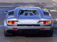 Lamborghini Countach 25th anniversary rear