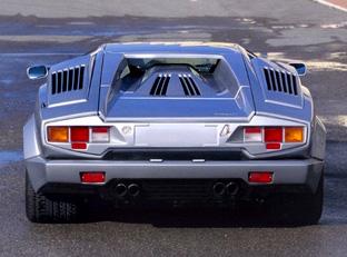 File:Lamborghini Countach 25th anniversary rear.jpg