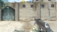 AK-47 Code Red equipped (with GUI)