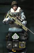 NRF Sniper Model