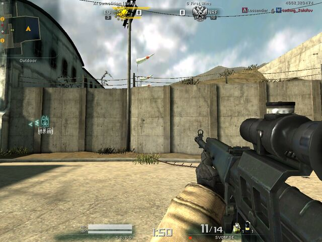File:SVDM Mod 0 Firing (No muzzle flash; recoil is visible).jpg