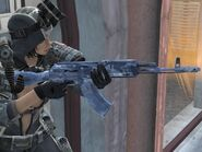 AK200 OMON equipped (3rd person)