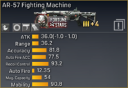 AR-57 Fighting Machine statistics