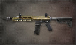 Weapon Assult Rifle Remington R4