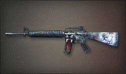 Ar leopard m16a2