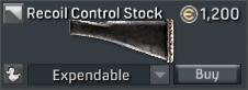 SA58 Para Recoil Control Stock