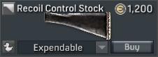 Mk. 20 Proto SSR Recoil Control Stock