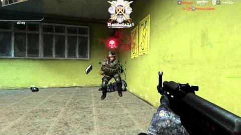 AVA Weapon Showcase - AK47 Code Red (Rifleman)