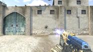 Corvus III Blaster firing