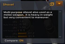 Shovel description