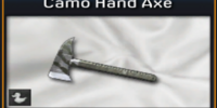 Camo Hand Axe