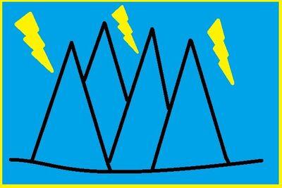 Storm Peaks Nation Flag