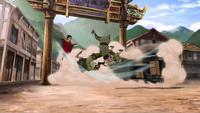 Capturing bandits