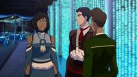 Korra, Mako, and Wu