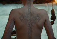 Film - Aang's tattoos