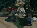 Zei and his books.png