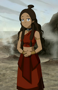 Katara's Fire Nation outfit