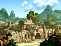 Temple ruin