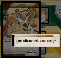 Immediate advantage card