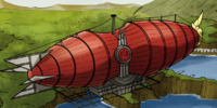 Fire Nation airship