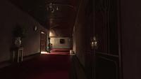 Sato estate hallway