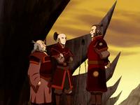 Iroh, Zuko, and Zhao