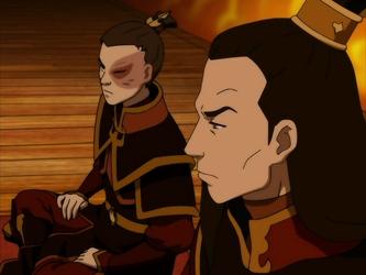 Zuko and Ozai