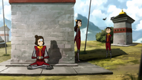 Jinora telling her siblings off