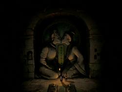 Cave sculpture