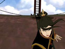 Azula on airship