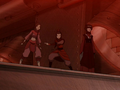 Azula's team inside the drill.png