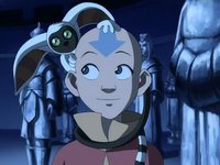 Aang and Momo