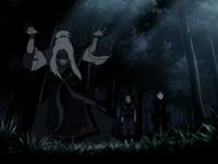 Hama bloodbends Aang and Sokka