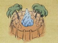 Misty Palms Oasis map