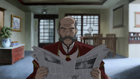 Fire Nation councilwoman's husband