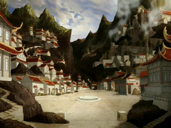 Fire Nation bazaar