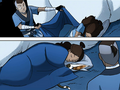 Sokka covering Katara with a blanket.png