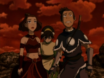File:Sokka, Suki, and Toph.png