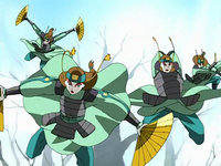 Kyoshi Warriors attack