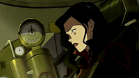Asami overcoming her anger