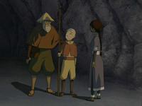 Fisherman thanking Aang