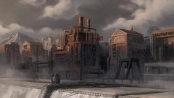 Republic City industrial areas