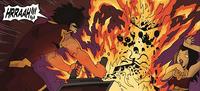 Zuko torches the game