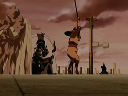 Team Avatar vs Royal Guards