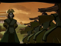 Kyoshi trains the Dai Li