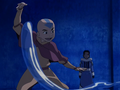 Aang teaches Katara.png